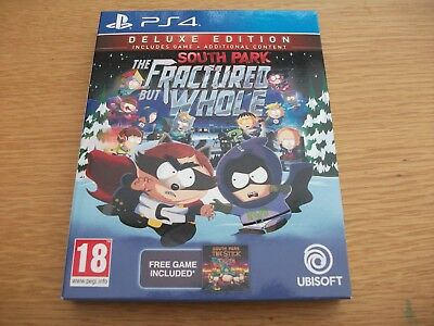 South Park The Fractured But Whole Deluxe Edition - Uk Release Sony Ps4 Game