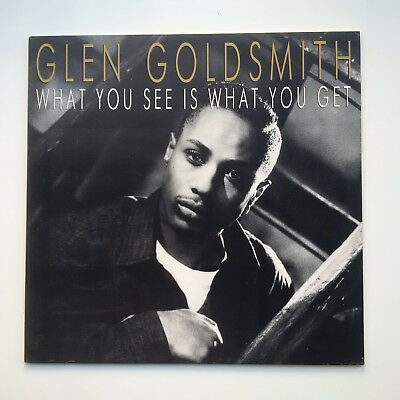 Glen Goldsmith What You See Is What You Got LP