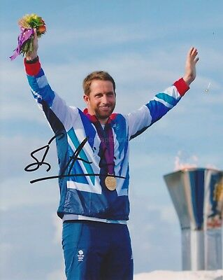 Ben Ainslie HAND Signed 8x10 Photo Autograph, Olympic Sailor, Sailing
