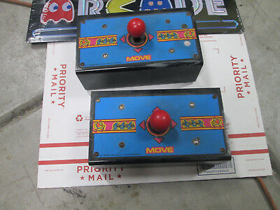 Midway Ms Pac Man arcade video game cocktail CT Sit cabinet control panel set