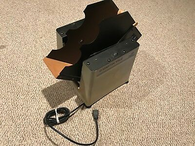 Martin Yale Model 400 Automatic Tabletop Paper Jogger Machine! Works Great Clean
