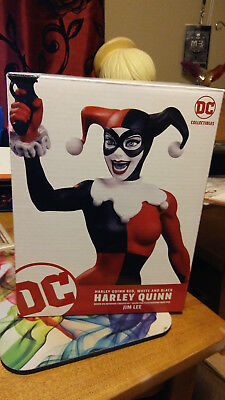 DC Comics Harley Quinn Red, White, & Black Statue By Jim Lee (New)