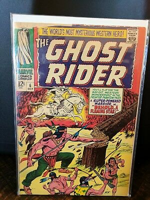 Marvel The Ghost Rider 6 1967 Silver Age