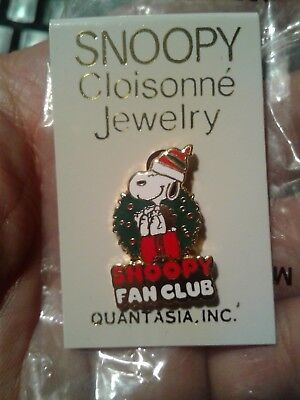 Vintage Quantasia Snoopy Fan Club Pin