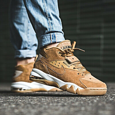 reputable site 33f79 a22d8 Nike AIR FORCE MAX PREMIUM Color Brown Size 7 8 9 10 11 12 Mens Shoes