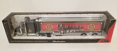 1:64 BUDWEISER 75th Anniversary Clydesdale Transporter 2008 SpecCast #36598