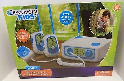 Other Interactive Toys Toys & Hobbies Discovery Kids 3-way Walkie Talkie New
