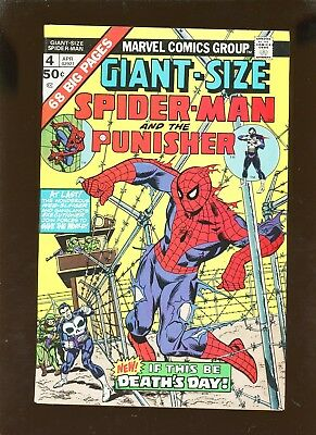 Giant-Size Spider-Man 4 VF+ 8.5 *1 Book* 3rd Punisher App! Lee! Ditko! Conway!