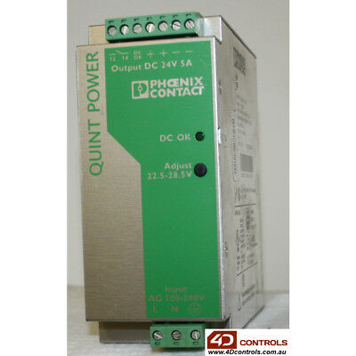 Phoenix Contact QUINT-PS-100-240AC/24DC/5 Power Supply - Used