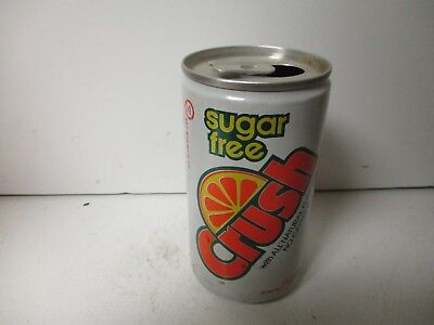 1985 Sugar Free Crush Orange soda can.