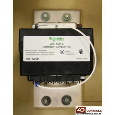 Schneider 34035 400 - 2000A Neutral Current Transformer - New Surplus Open