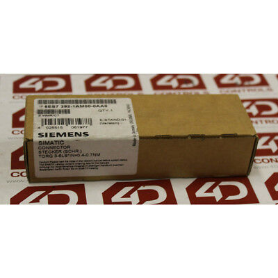 Siemens 6ES7 392-1AM00-0AA0 Simatic Front Connector - New Surplus Sealed
