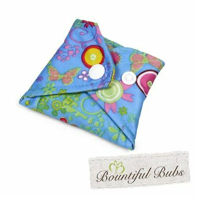 Washable Cloth Pad, Menstrual & Incontinence Pads, Small, Summer Garden. Bountif