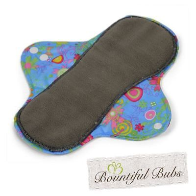 Washable Cloth Pad, Menstrual, Maternity, Incontinence, Med, Summer Garden. Boun
