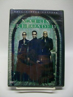 The Matrix Reloaded (DVD, Keanu Reeves, Laurence Fishburne, 2003) *BRAND NEW*