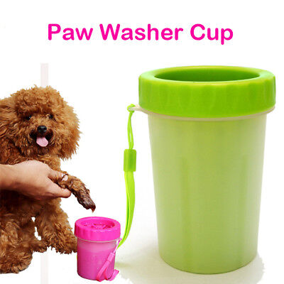 NEW Portable Pet Paw Plunger Mud Cleaner Washer Mudbuster Dog Cat Pet Paw