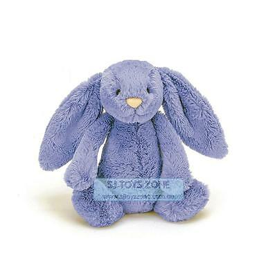 Jellycat Baby Toddler Soft Cuddle Bluebell Bedding Time Bunny Stuffed Toy