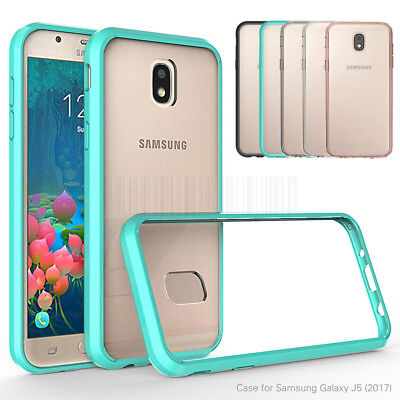 Shockproof Hybrid Transparent Silicone Case Cover For Samsung Galaxy J5 Pro 2017