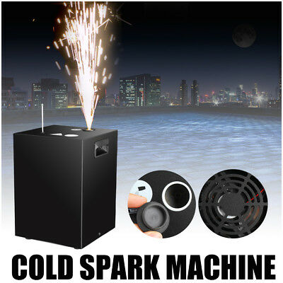 Cold Spark Nonpyrotechnic Spark Machine Stage Effect DMX No Flame Safe AU