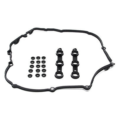 Valve Cover Gasket w/ 15 Grommets Washers for BMW E39 E46 E53 E60 11120030496