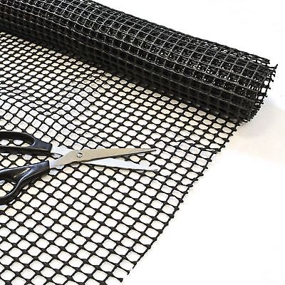 Non Slip Mat 100 x 150cm Multi Purpose Anti Slip Rug Gripper Grip Dash Mat Black