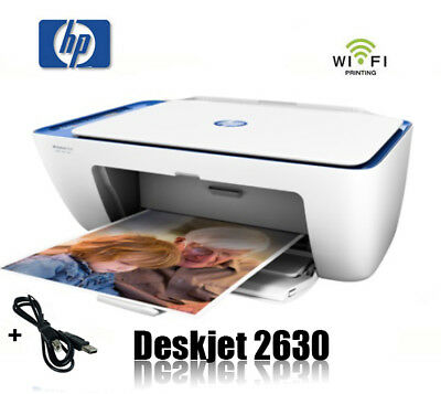 Hp Deskjet 2630 Multifunktions Wifi Drucker Scanner Kopierer Printer  *neu