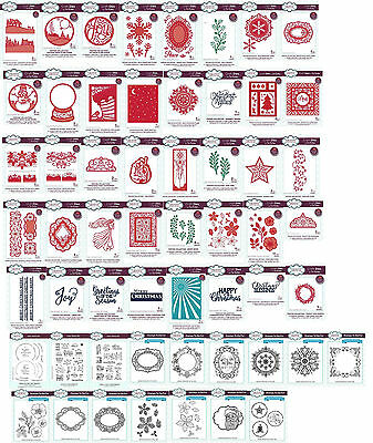 CREATIVE EXPRESSIONS Craft Dies & Rubber Stamps Sue Wilson Festive 2016 Reduced