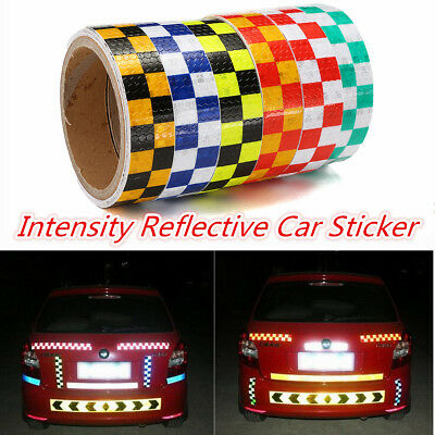 3m X 25mm High Intensity Safety Reflective Warning Tape decals Self-Adhesive