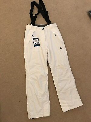 DARE 2B Ladies White Slim cut, short leg size 10 brand new with tags never worn