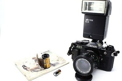 Canon AE-1 Black  Program/ Canon FD 35-70mm  / Starter Set / Service + Seals