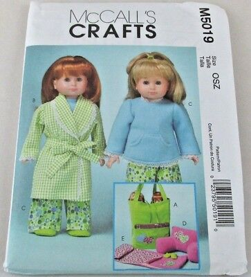 MCCALL\'S CRAFTS SEWING Pattern #M5019 18\