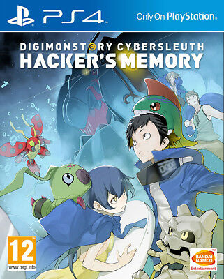 Digimon Story: Cybersleuth - Hacker's Memory (PS4)  BRAND NEW AND SEALED