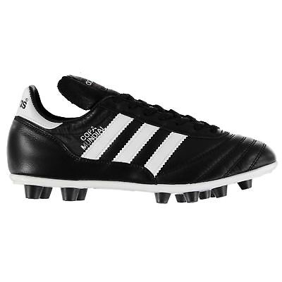 reputable site af085 f2f7e adidas Copa Mundial Football Boots Juniors Black Soccer Shoes Cleats