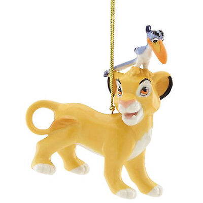 lenox Disney Simba & Zazu Ornament 2017