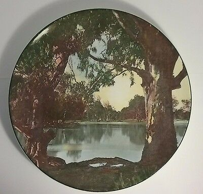 The Murray River Plate Vintage Royal Doulton Cabinet D6425 Charger Collector