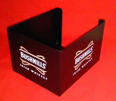 Bushmills Irish Whiskey Metal  Bar Caddy Swizzle Stick Napkin Holder - New!