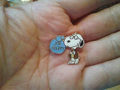 Vintage Aviva Snoopy Joe Preppie Pin