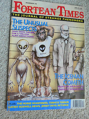 FORTEAN TIMES - THE JOURNAL OF STRANGE PHENOMENA MAGAZINE No.83 Oct/Nov 1995