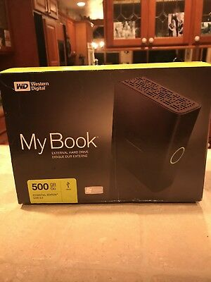 Western Digital My Book Essential Edition External Hard Drive 500GB