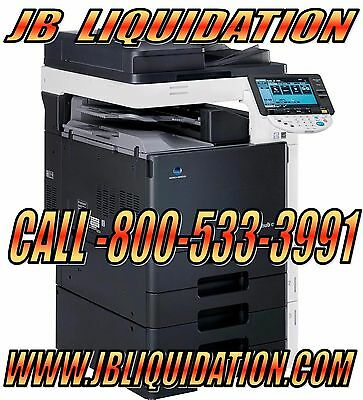 Konica Bizhub C451 High Speed Color Copier, Printer, Scanner, Fax