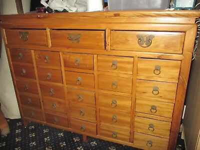 Chest of drawers/medicine cabinet quality wooden furniture REDUCED