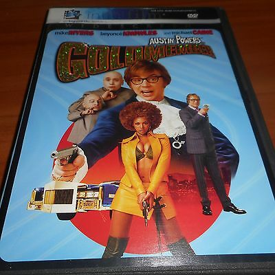 Austin Powers 3 Goldmember (DVD, 2002, Widescreen) Mike Myers Used