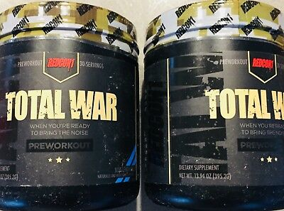4 REDCON1 Total War Pre Workout Strong Pre Trainer ORIGINAL VERSION! VALUE!