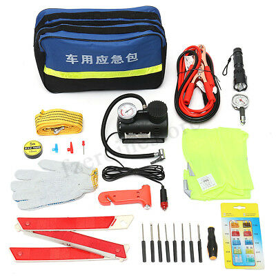 AA Car Essentials Emergency Breakdown and Safety Kit Plus Vehicle Repair Tools