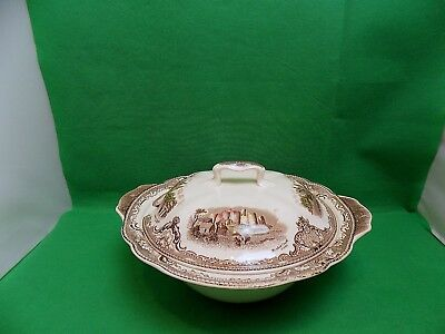 Johnson Bros Old Britain Castles Soup Tureen with Lid
