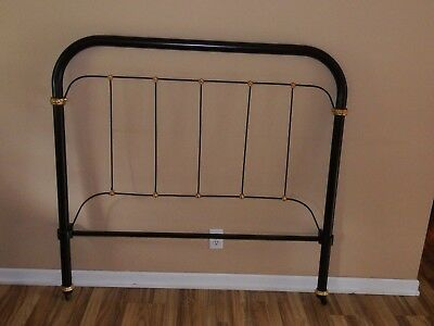 Antique Cast Iron Bed Full Size Restored