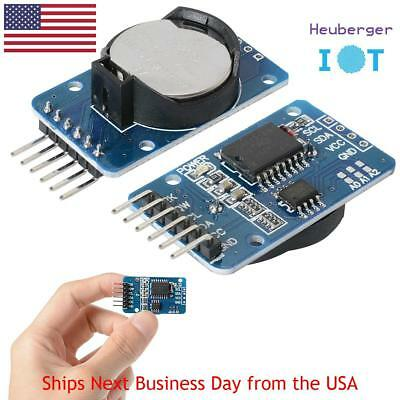 DS3231 AT24C32 IIC Real Time Clock RTC Memory + CR2032 battery for Arduino