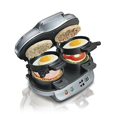 Sandwich Maker Machine Egg Dual Cheese Best Double Kitchen Breakfast Home Timer