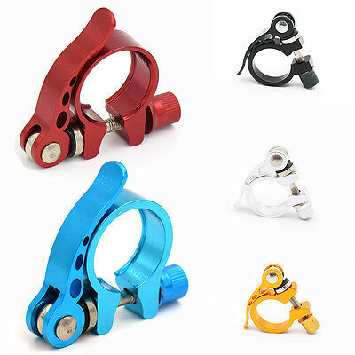 Mountain Bike Bicycle Seat Bolt Seatpost Quick Release Saddle Post Clamp Au