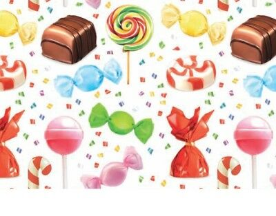 Carta regalo varie fantasie dolciumi 70 x 100 cm -  candy gift card